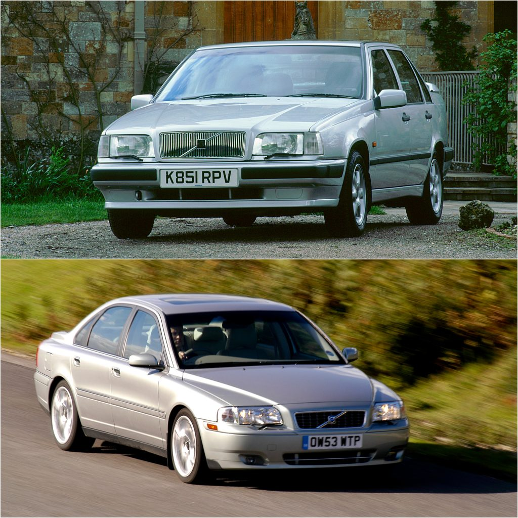 Volvo 850 and S80