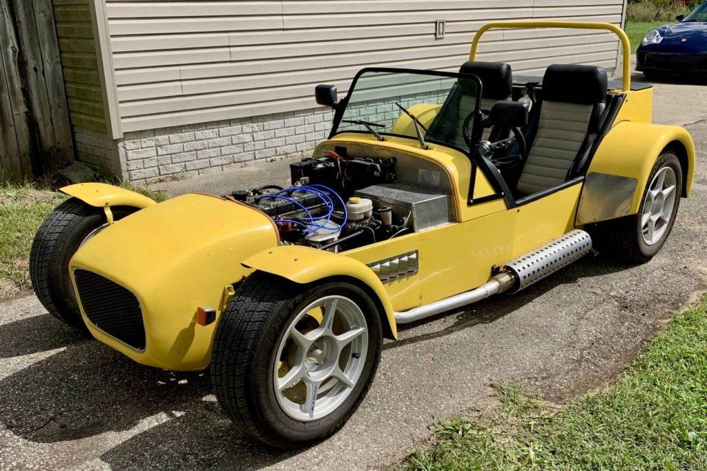 Yellow Locost Seven Kit Car