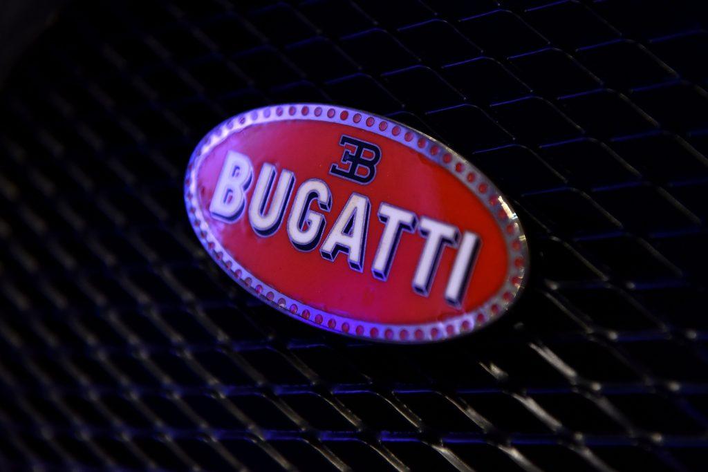 the bugatti logo
