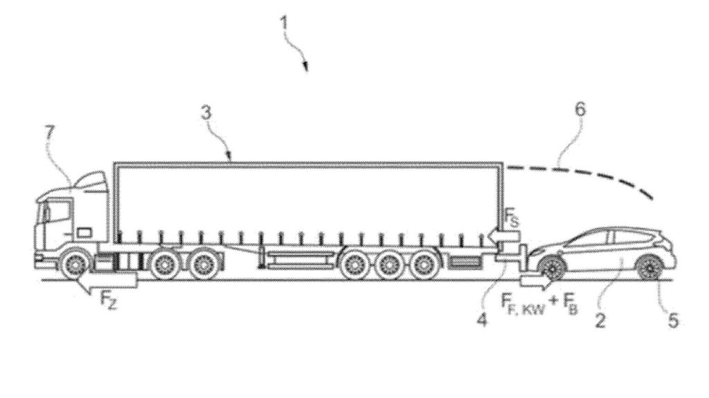 Ford patent for flat towing for a way to do EV charging