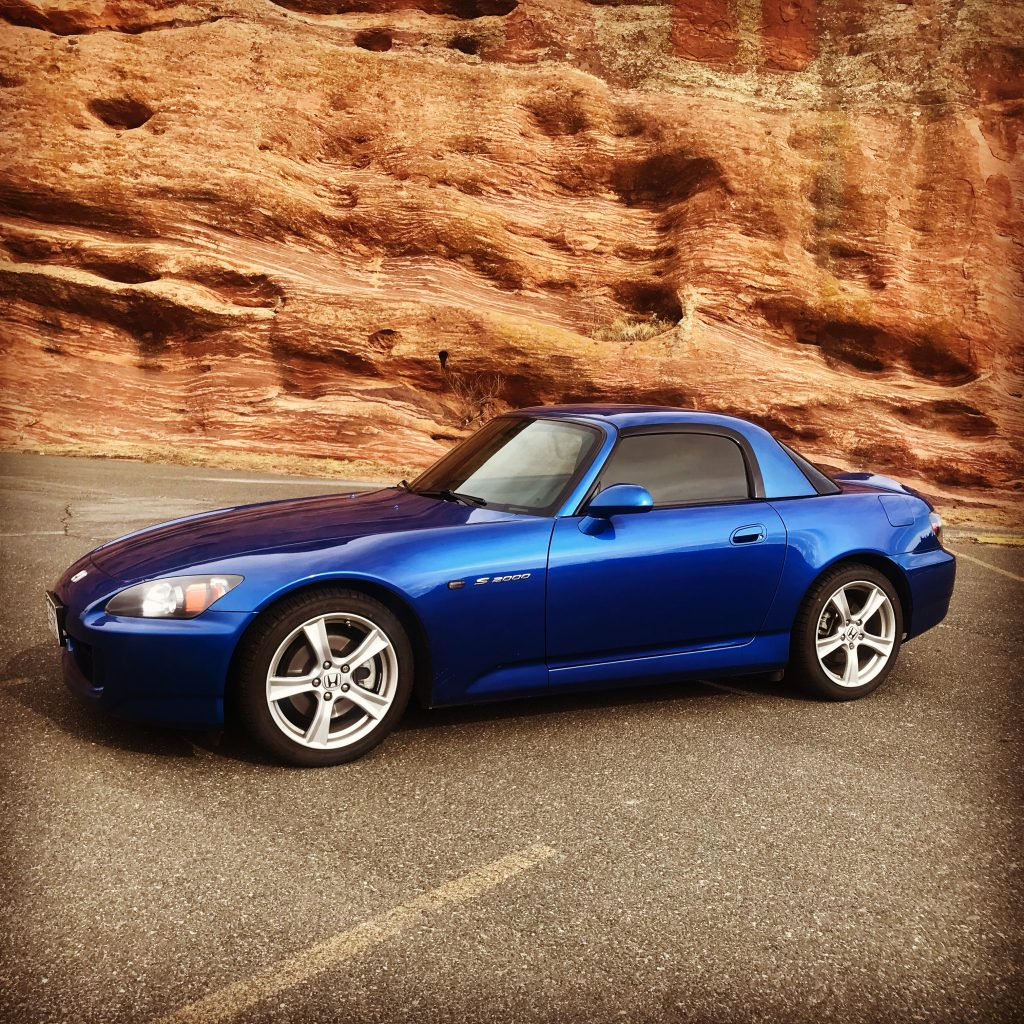 2008 Honda S2000 with the OEM hardtop