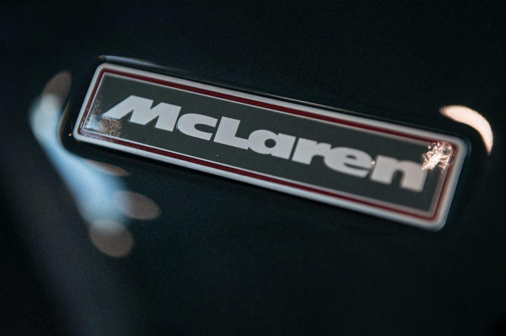 McLaren Badge