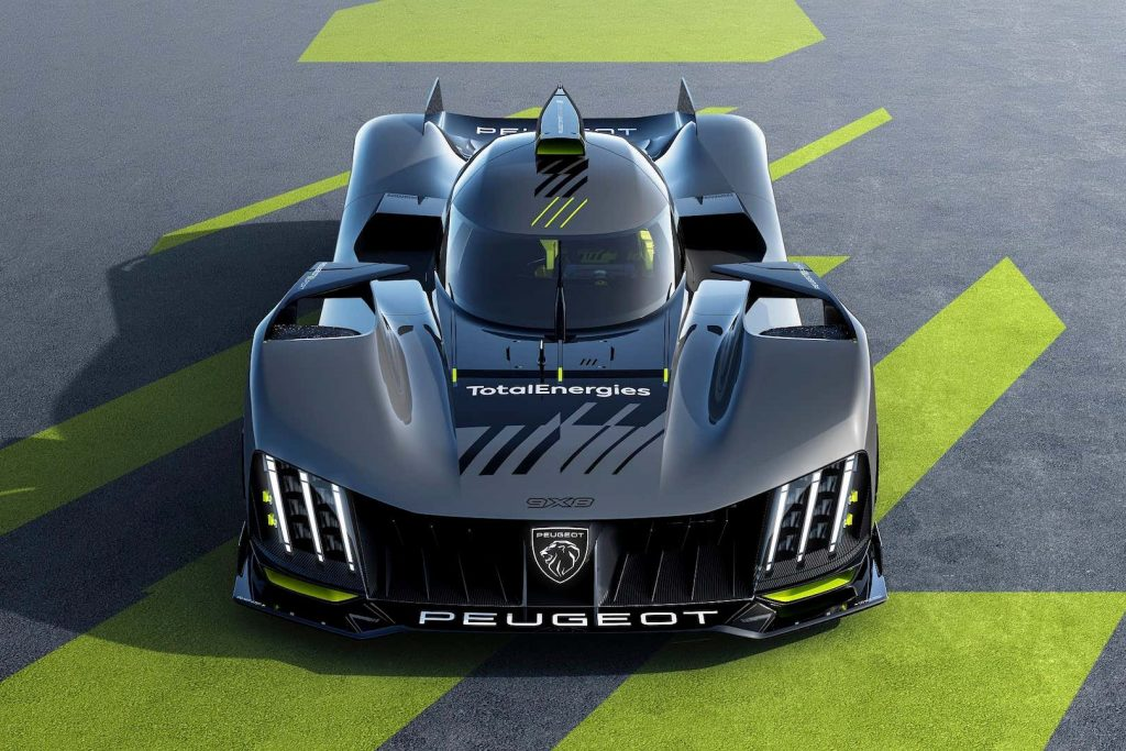 Peugeot 9X8s endurance racer