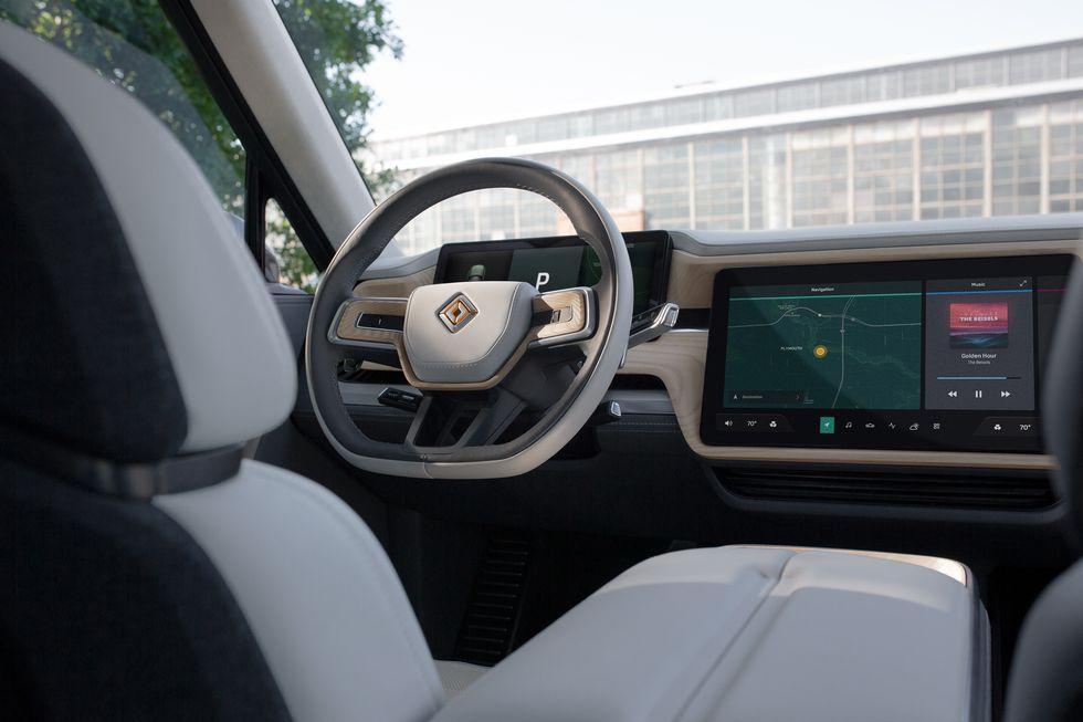 2021 Rivian R1S interior