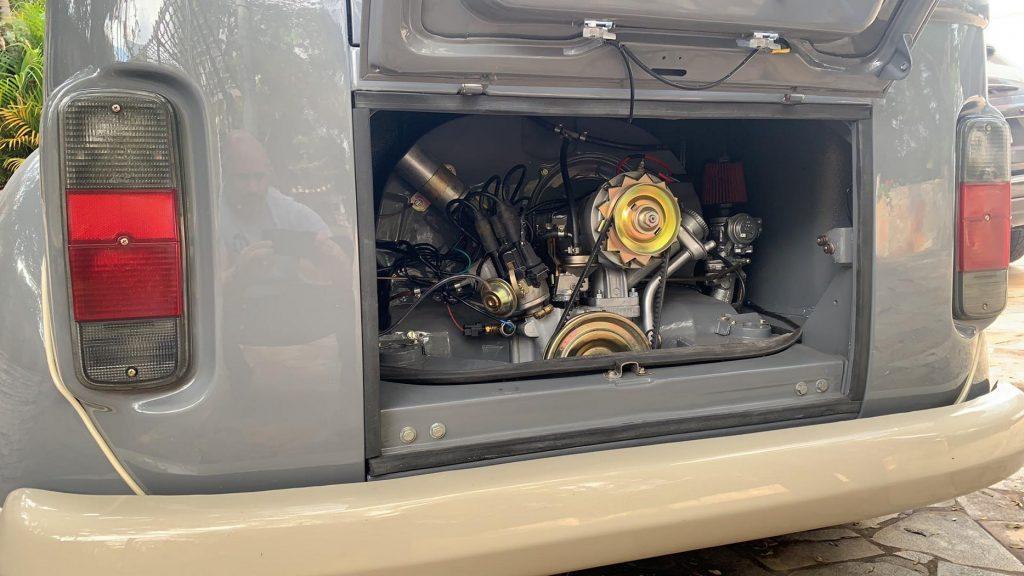 VW Fuskombi wagon from Brazil engine