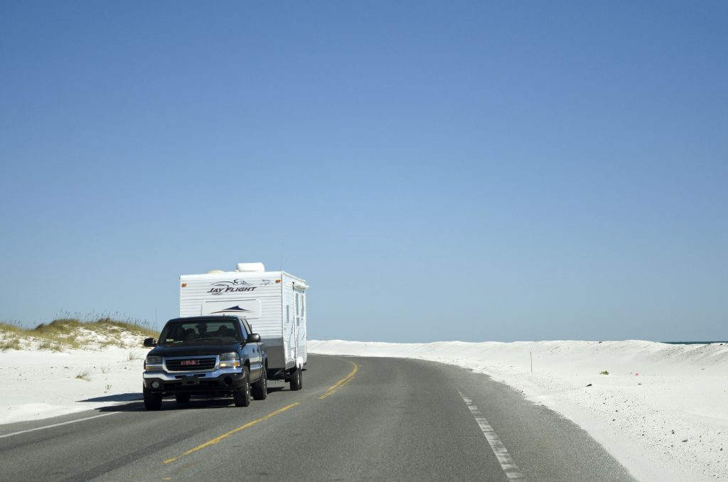 a vehicle towing