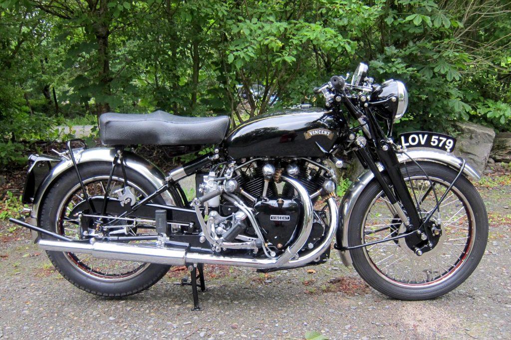 1951 Vincent 998cc Series-C Black Shadow