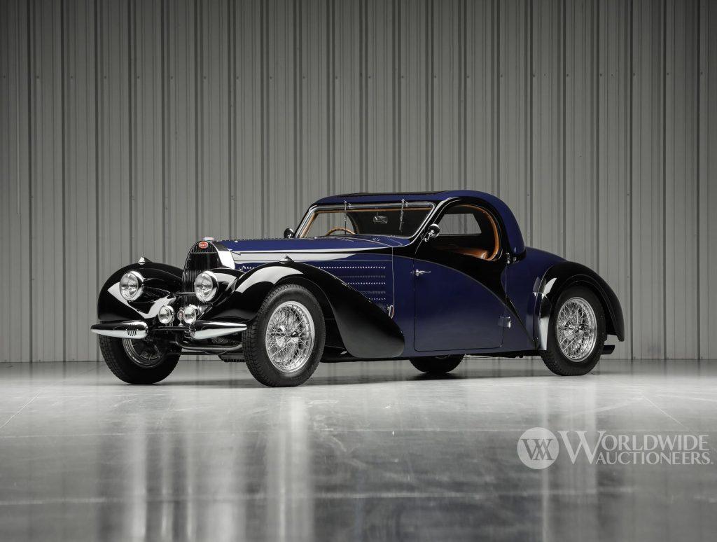 A very rare 1938 Bugatti Type 57S