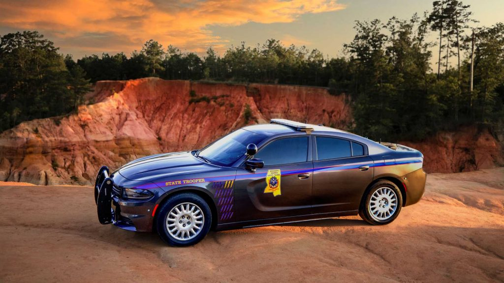 State trooper cop cars Dodge Charger