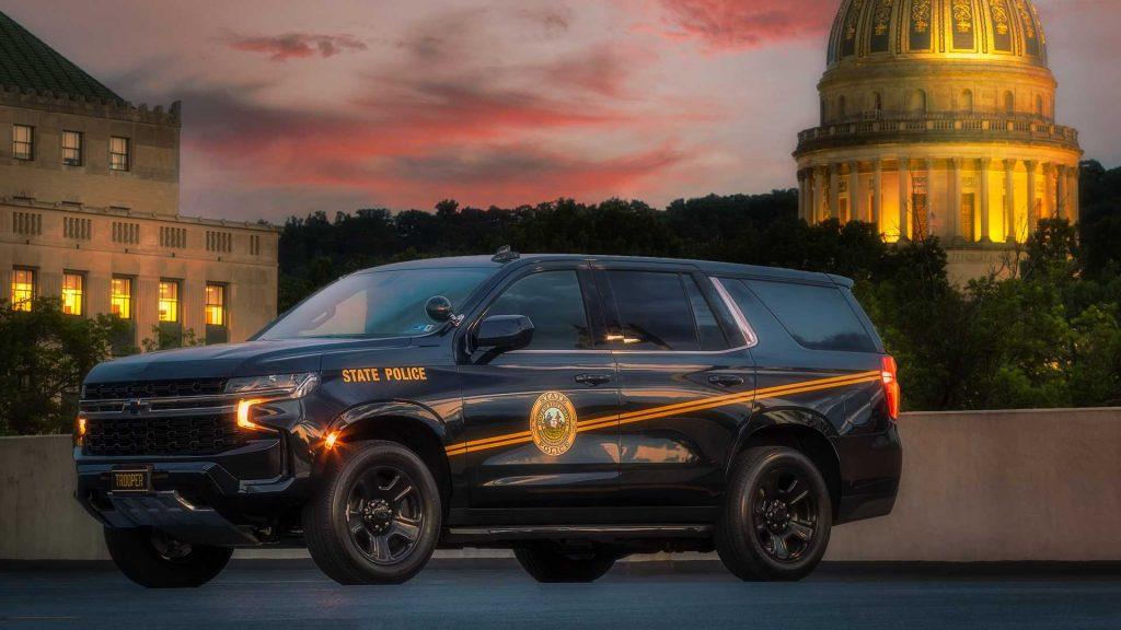 State trooper cop cars