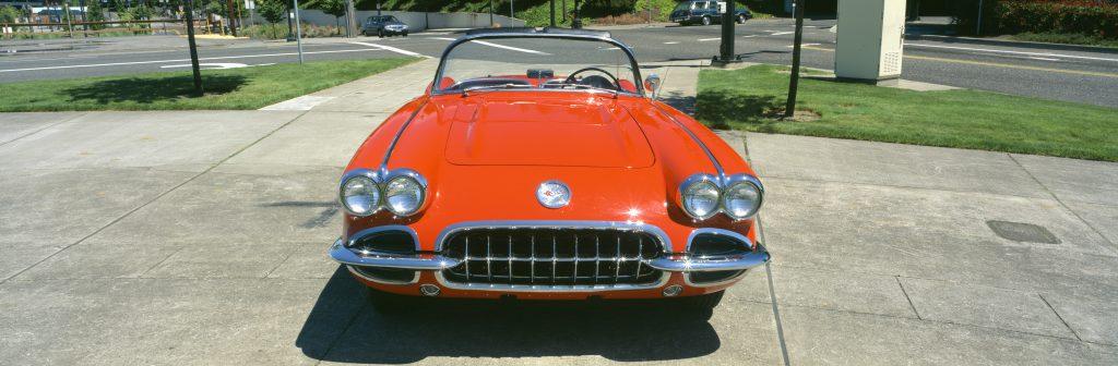 red 1959 Chevy Corvette   Getty
