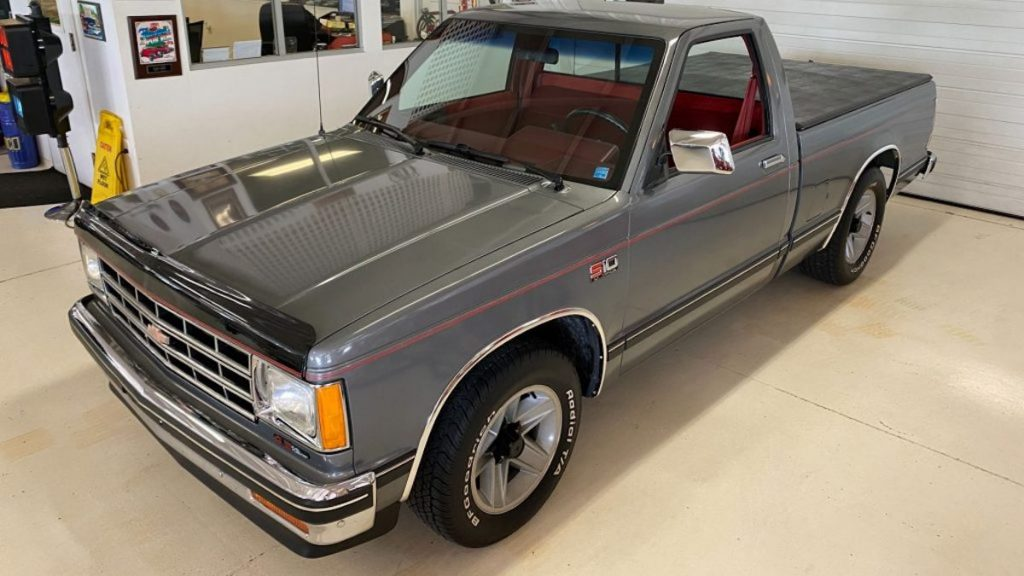 1988 Chevy S-10 is basically brand new with only 8,500 miles
