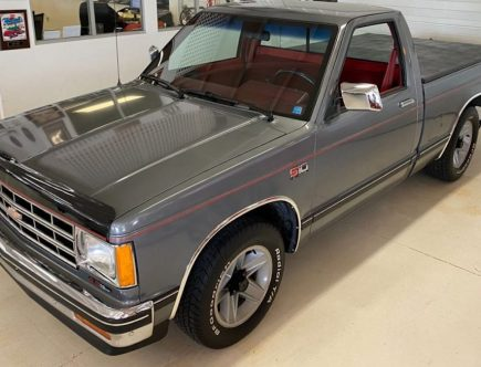 Buy This Brand-New 1988 Chevy S-10 Instead of a 2022 Ford Maverick