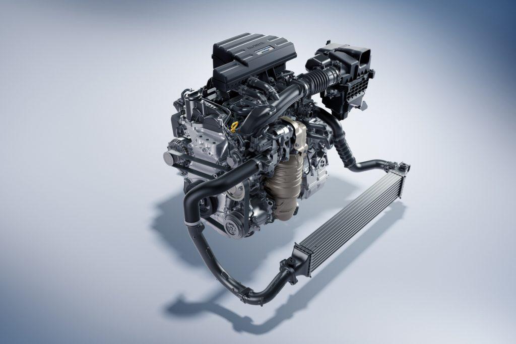 2021 Honda CR-V engine shot