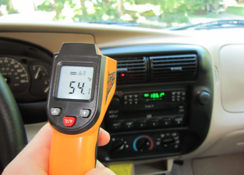 2001 Ford Ranger temp gauge