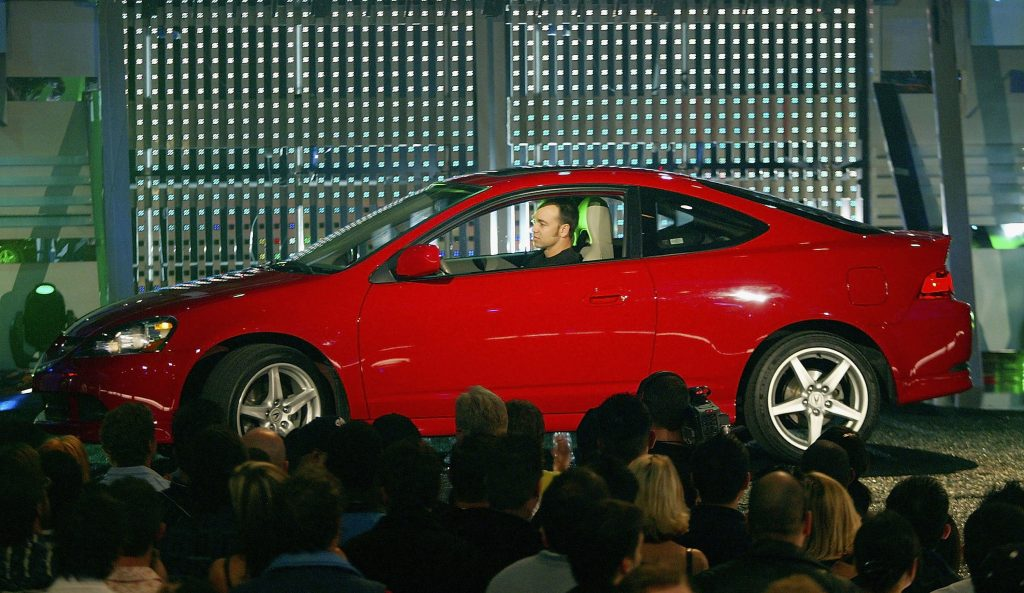 Winner of the Tastiest Tuner award the Acura RSX Type-S onstage during the Spike TV Presents Auto Rox.