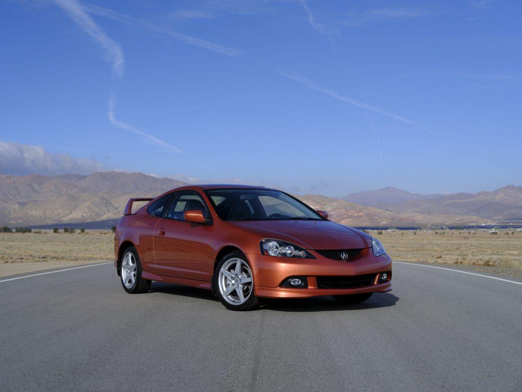 2006 RSX Type S in orange
