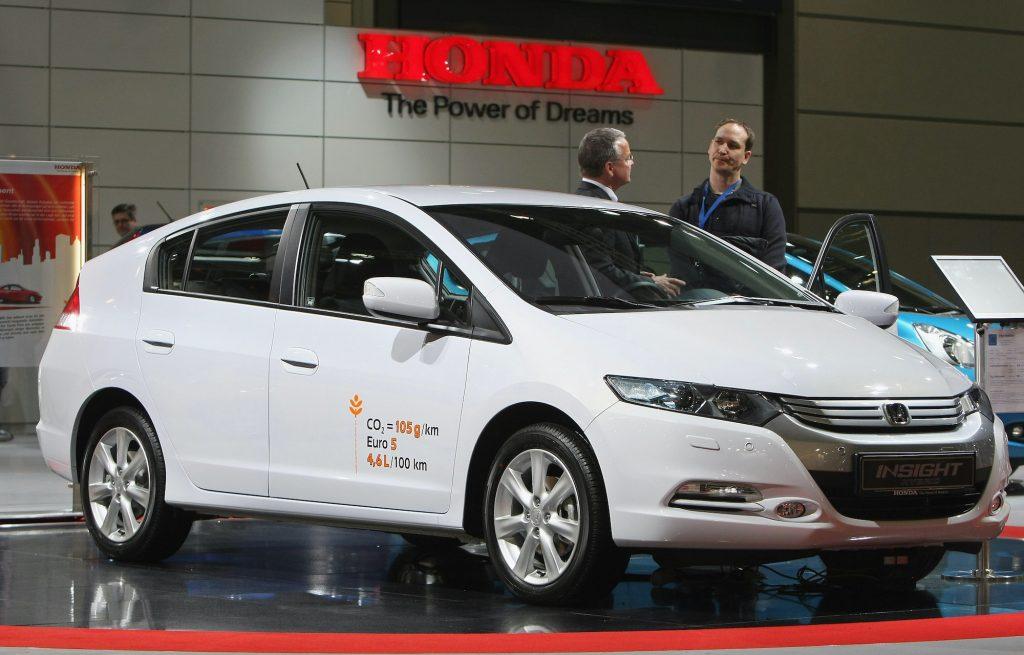 2010 Honda Insight on display