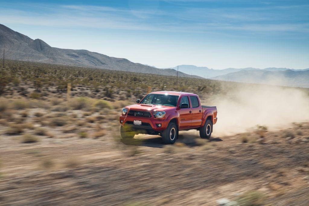 2015 Toyota Tacoma rips through the desert