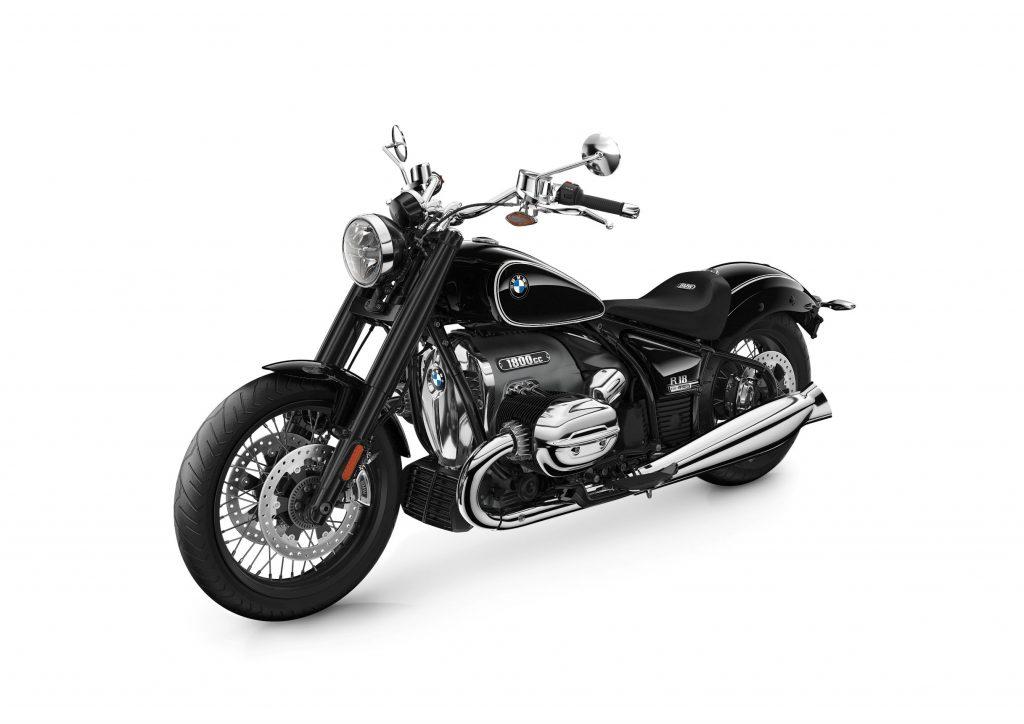 A black 2021 BMW R 18