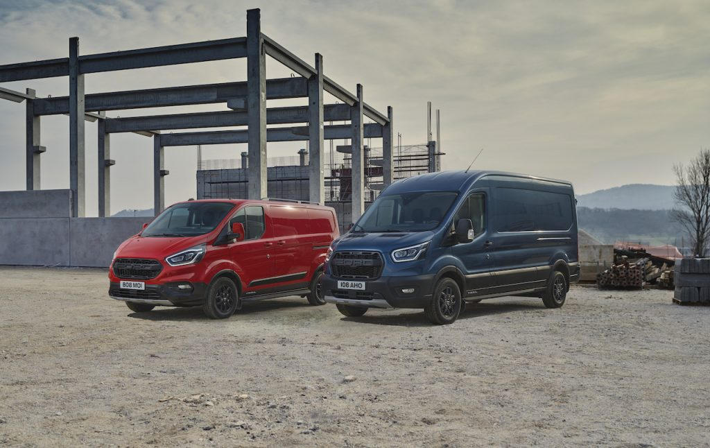 2021 Ford Transit Trail for Europe