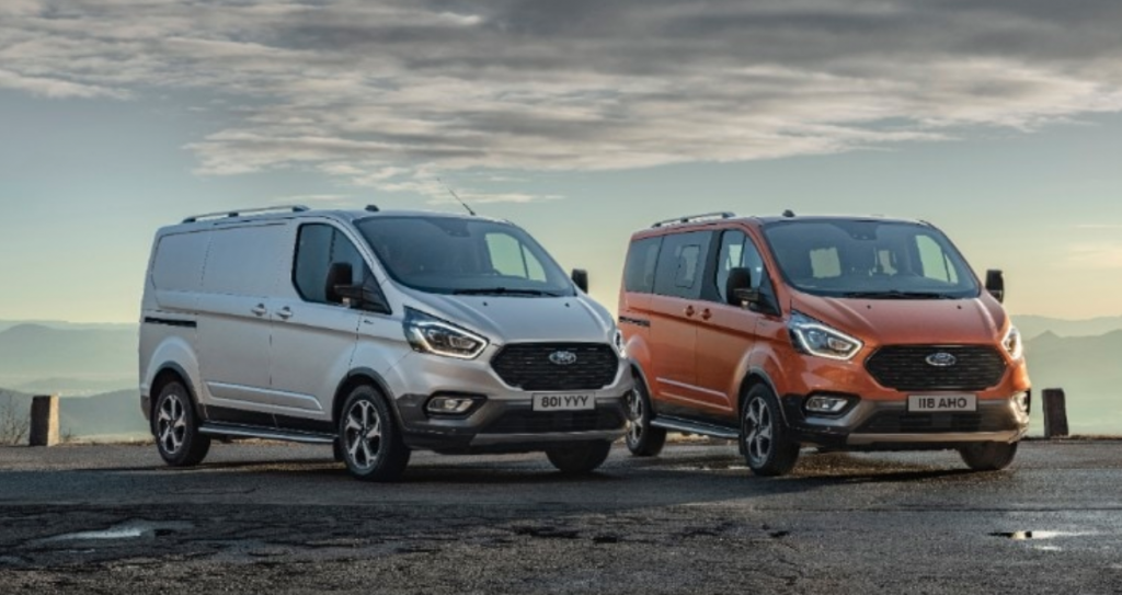 Your standard Ford Transit vans for the US