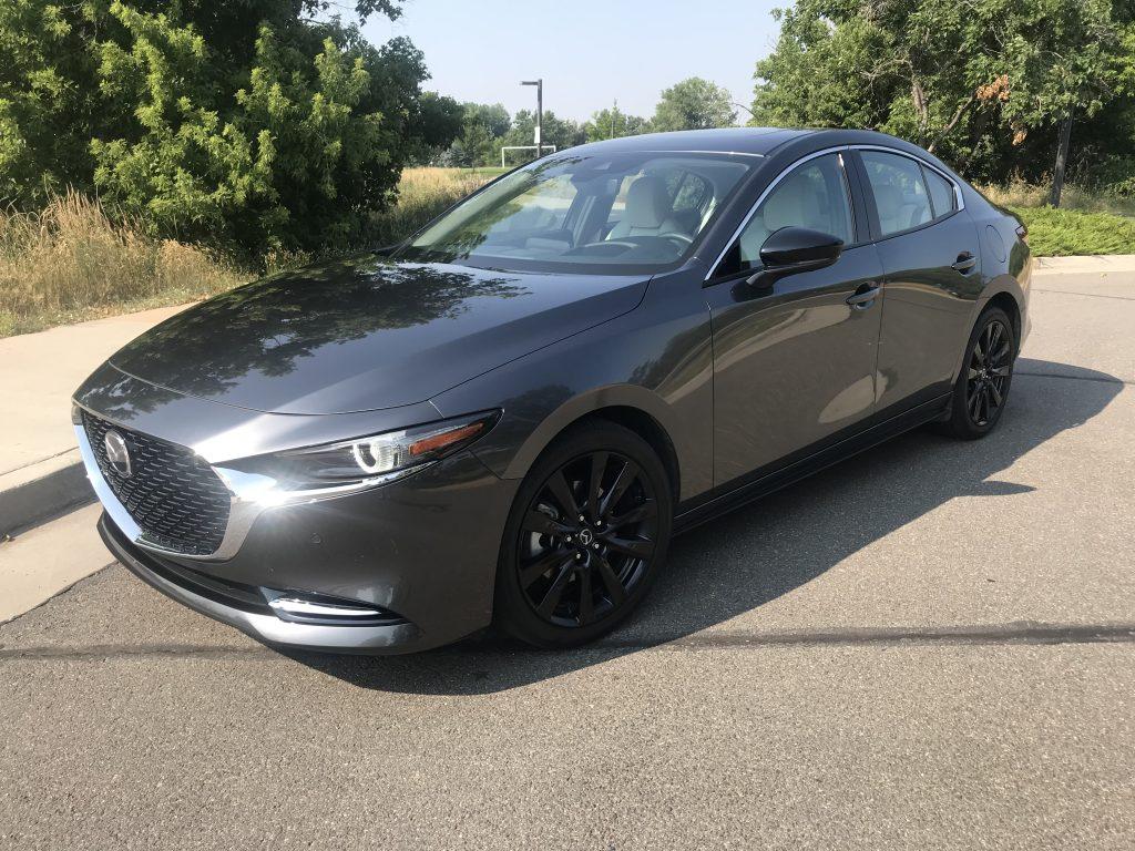 2021 Mazda3 Turbo exterior shot