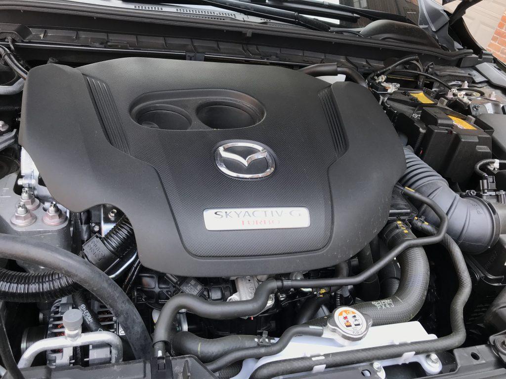 2021 Mazda3 Turbo engine