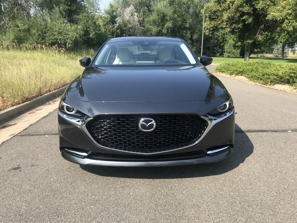 2021 Mazda3 Turbo front