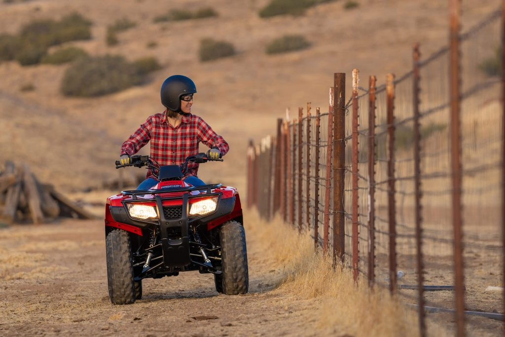 2021 Honda Fourtrax Recon is one of the ATVs made in America