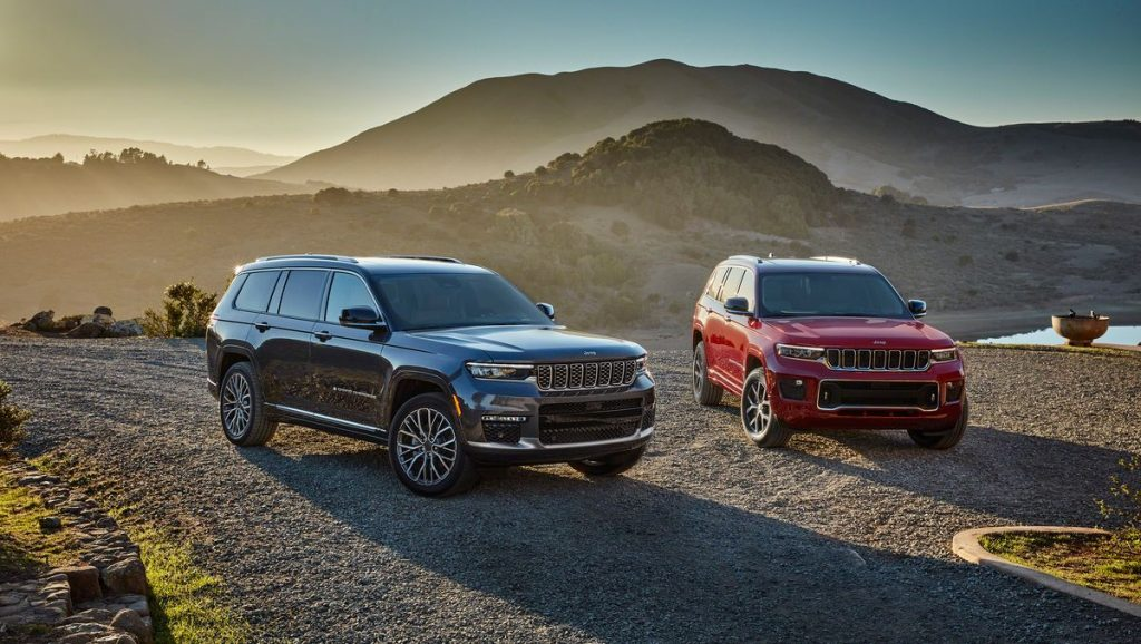 Two 2021 Jeep Grand Cherokee L models