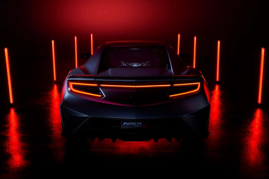 2022 Acura NSX Type-S rear shot