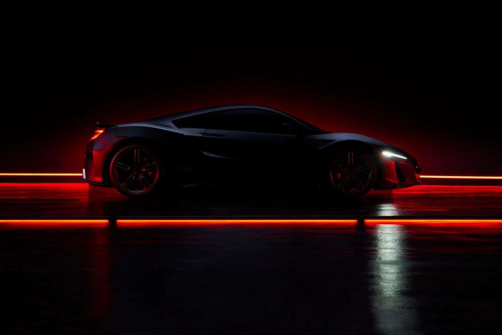 2022 Acura NSX Type-S tease