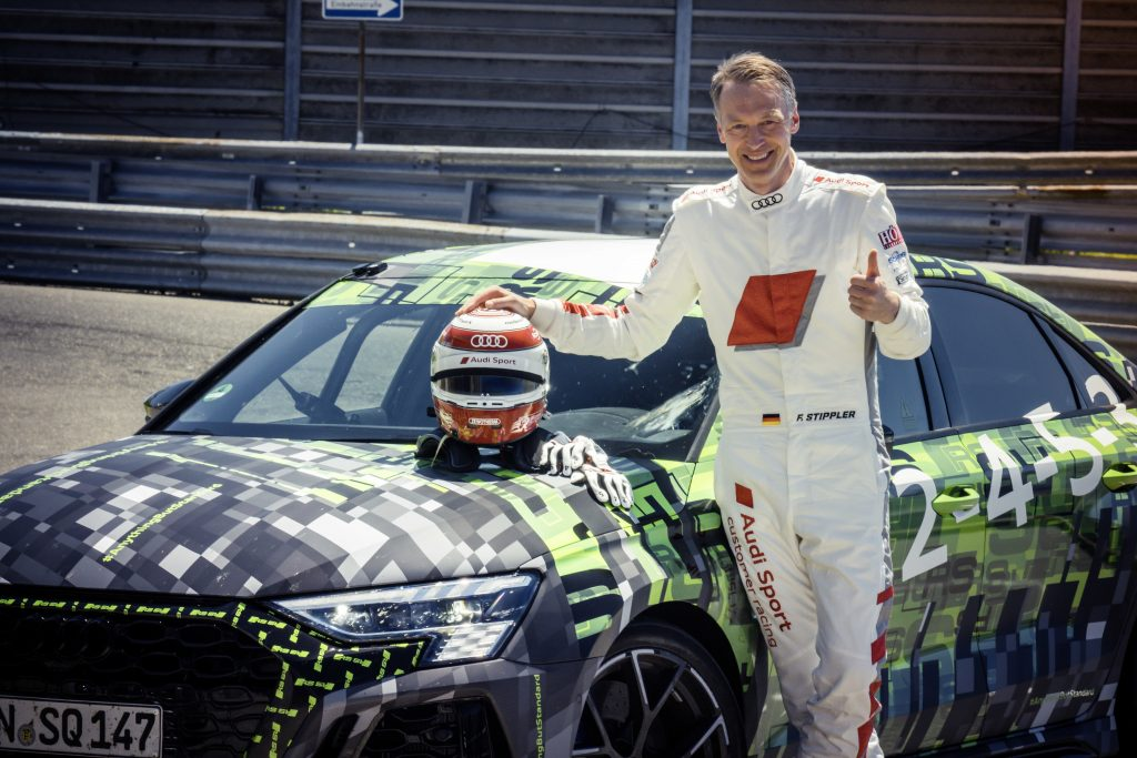 Audi Sport racing and development driver Frank Stippler