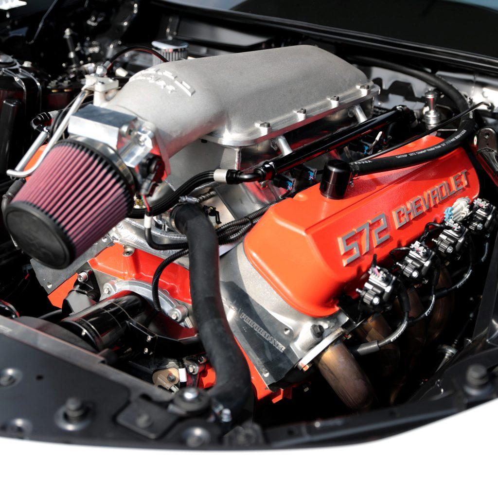 The 2022 Chevrolet COPO Camaro's 9.4-liter V8