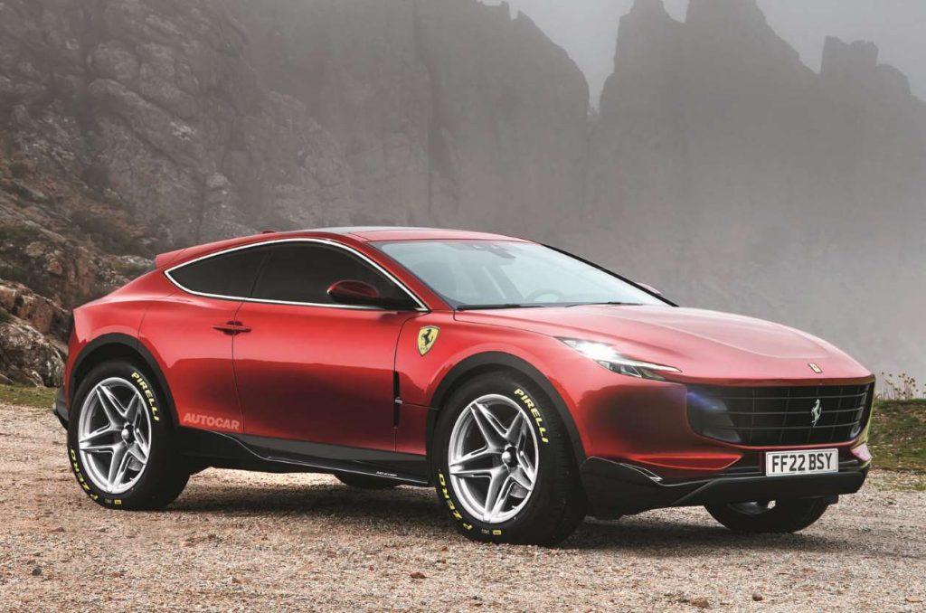 2022 Ferrari Purosangue