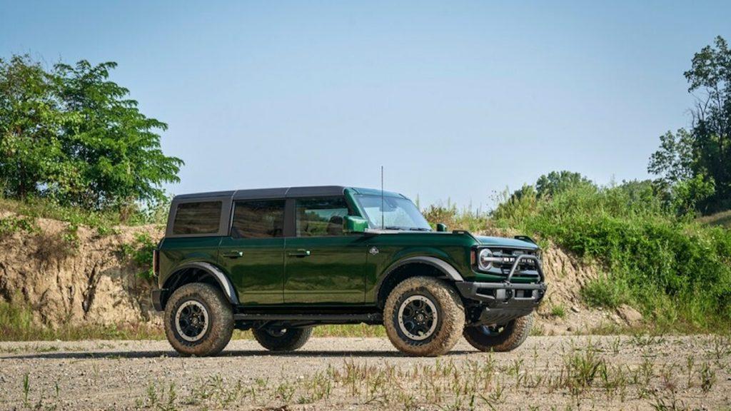 2022 Ford Bronco in new Eruption Green Metallic