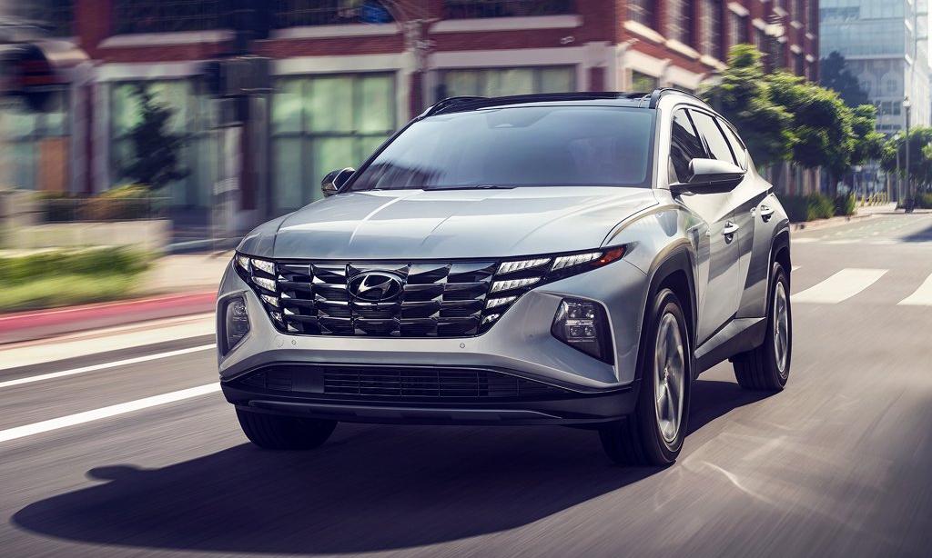2022 Hyundai Tucson Earns Highest IIHS Top Safety Pick