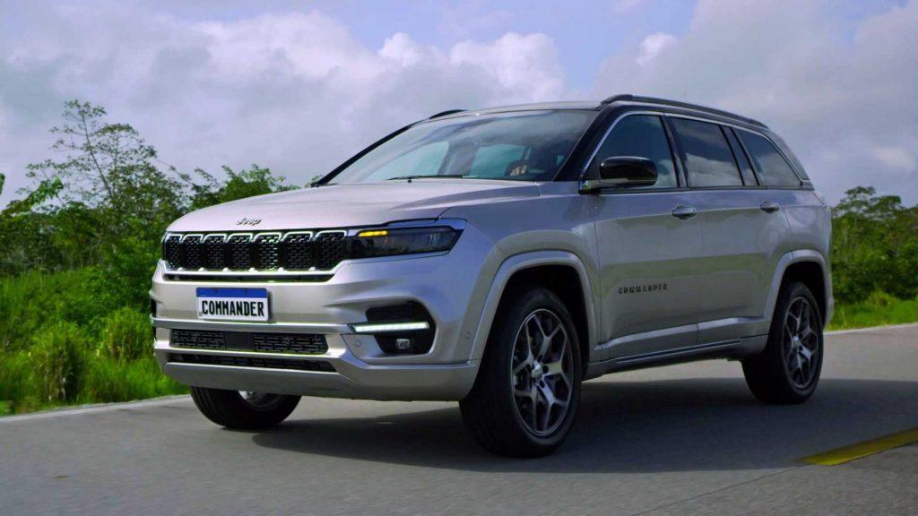 2022 Jeep Commander for Brazil