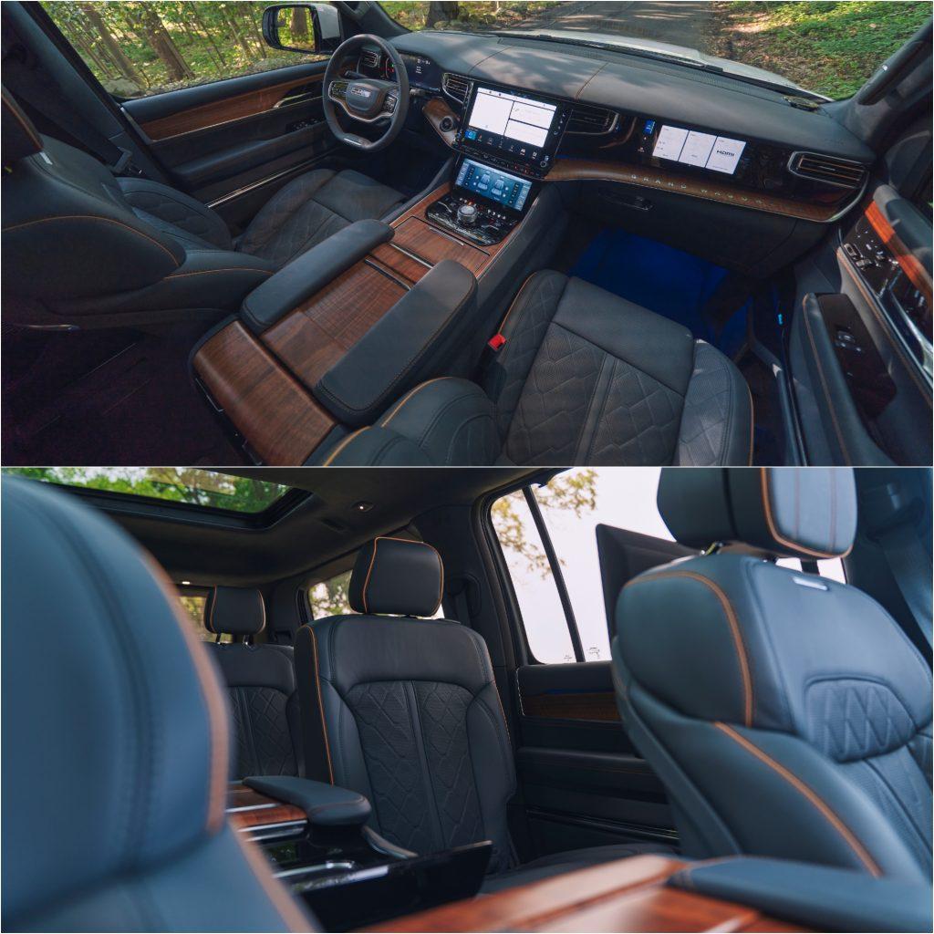2022 Jeep Grand Wagoneer Interior Views