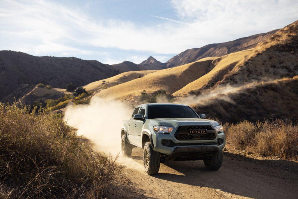 The 2022 Toyota Tacoma Trail Edition