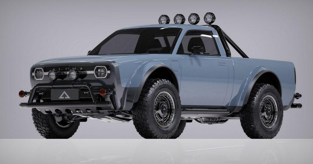 Alpha Motor Wolf Electric Truck