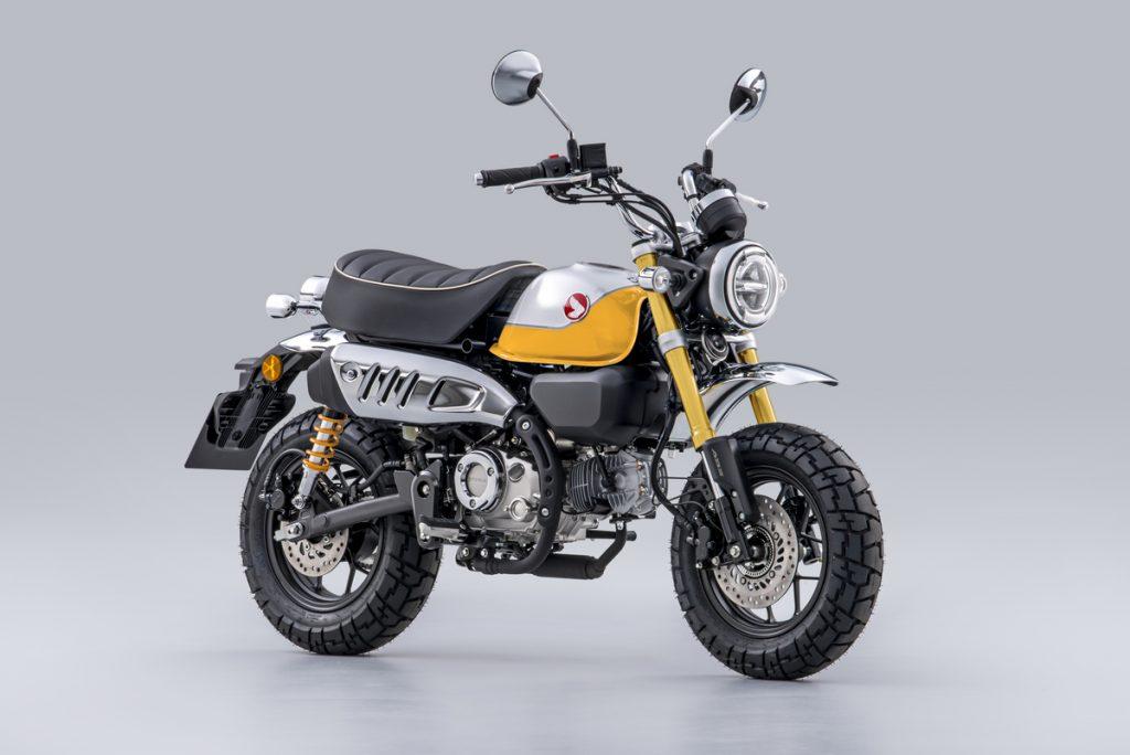 2022 Honda Monkey in yellow
