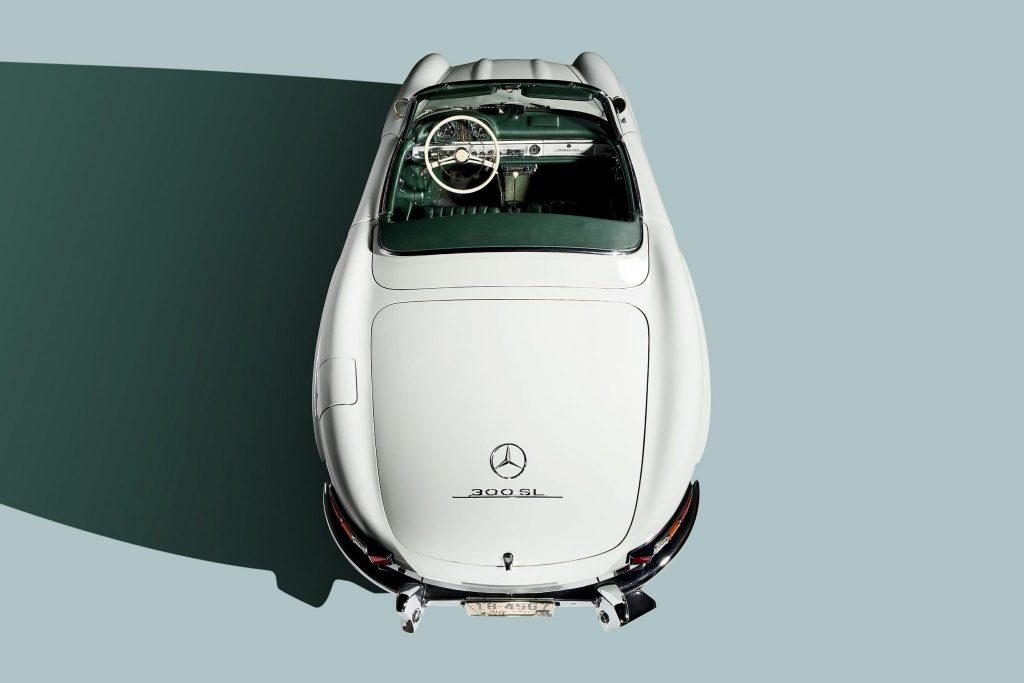 1961 Mercedes-Benz 300SL on Bring a Trailer