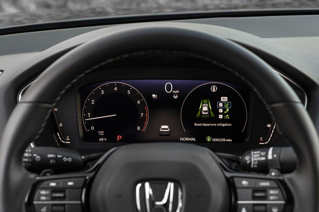2022 Honda Civic Sedan Touring Interior