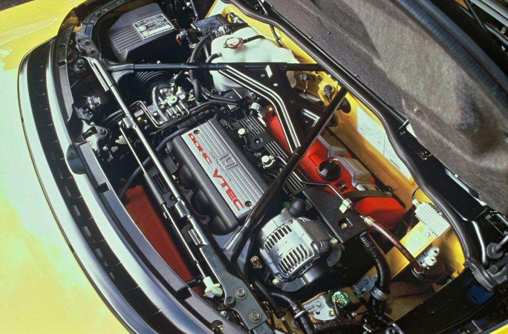 Acura NSX 3.2-liter engine