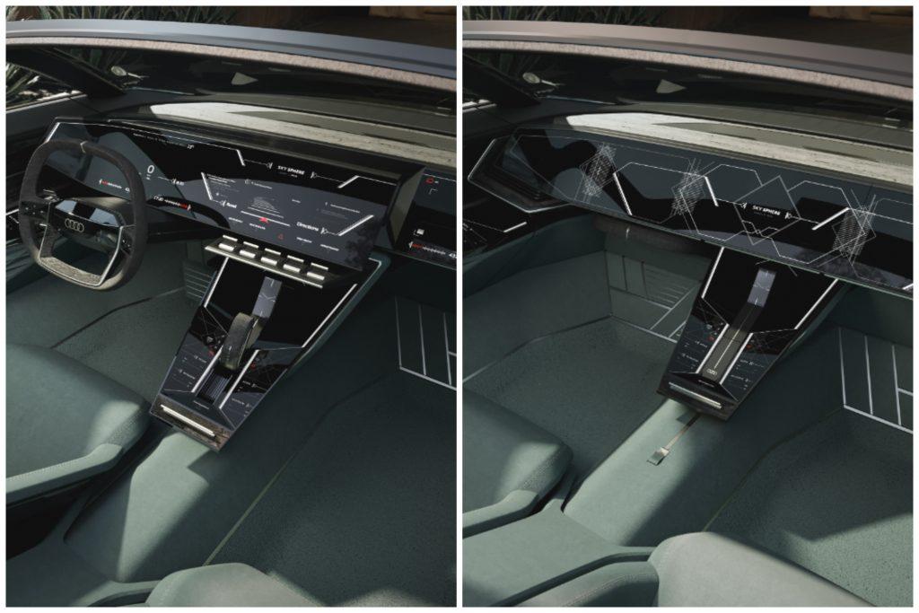 Audi Skysphere Electric Concept Car Interior