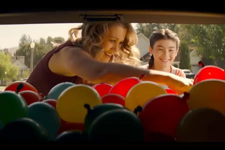 Audi water balloon promo