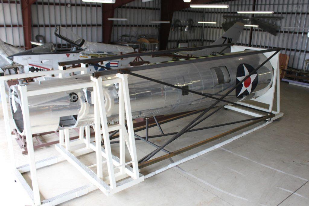 B-17 Flying Fortress fuselage