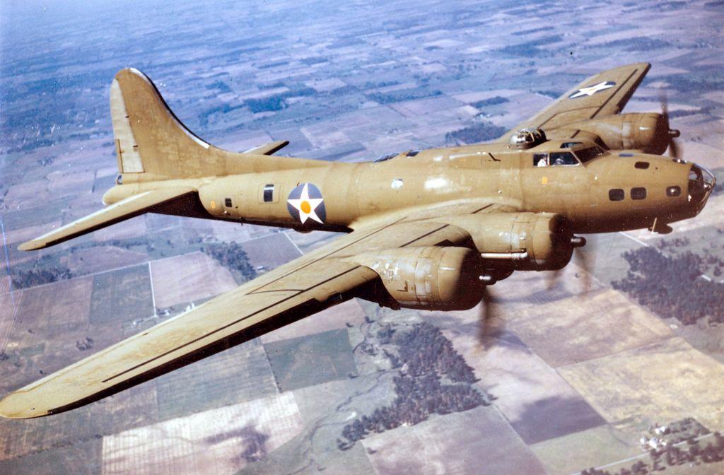 B-17E Flying Fortress